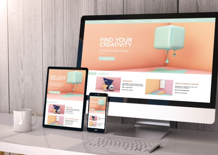 Virtual Assistant Services - website design